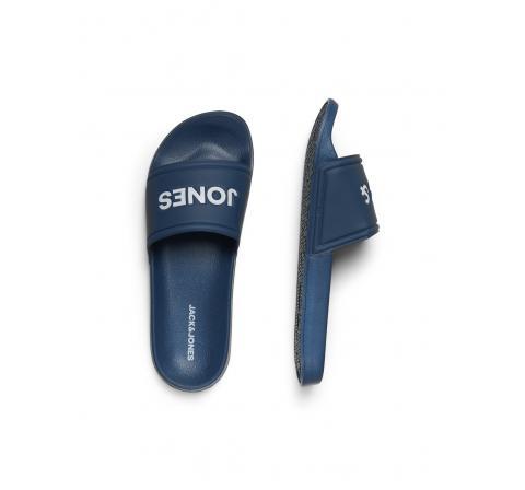Jack&jones footwear jfwlarry pool slider majolica blue azul oscuro - Imagen 1
