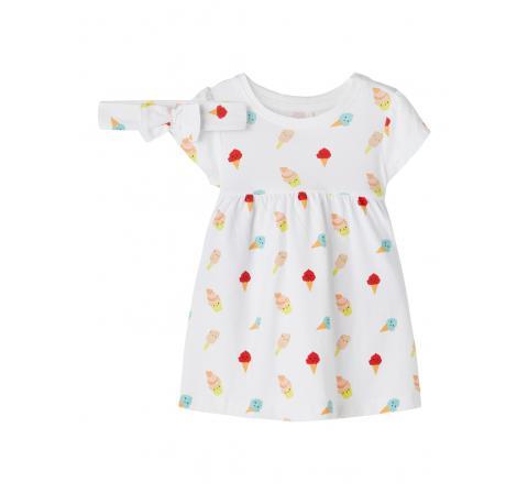 Name it baby niÑa nbfjilly dress set blanco - Imagen 1