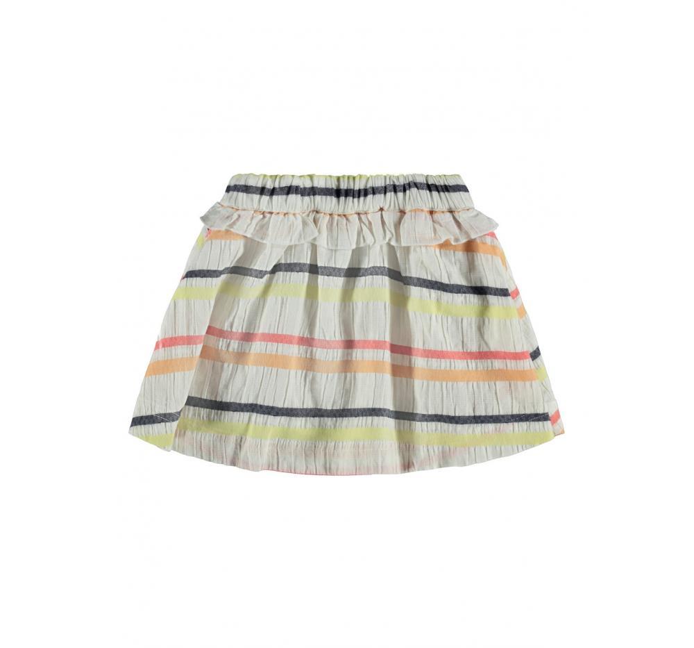 Name it mini niÑa nmfjuline skirt blanco - Imagen 1
