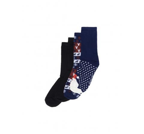 Only & sons onsnoel x sock 4-pack marino - Imagen 1