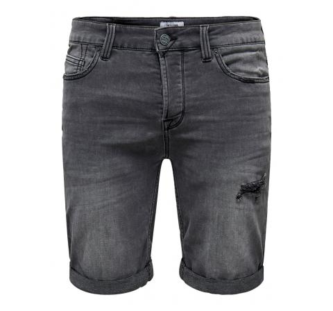 Only & sons noos onsply reg life grey sw pk 6951 noos gris - Imagen 3