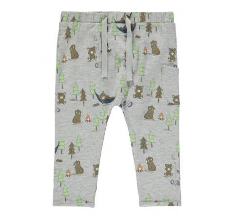 Name it baby niÑo nbmloke pant gris - Imagen 1
