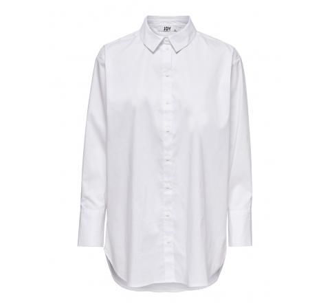 Jdy noos jdymio l/s long shirt wvn noos blanco - Imagen 1