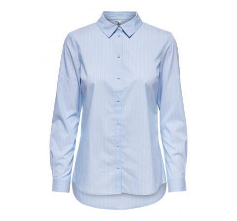 Jdy noos jdymio l/s shirt wvn noos celeste - Imagen 1