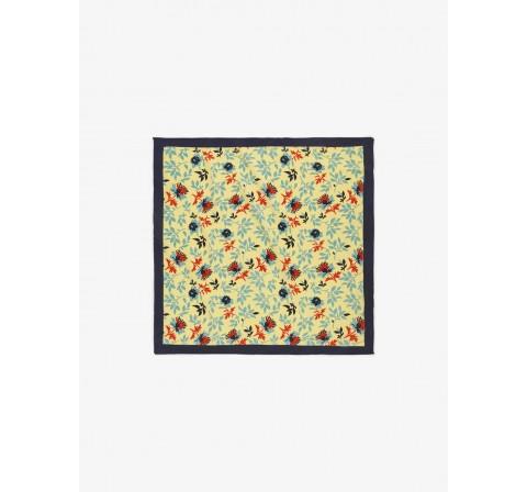 Pieces pcnelly small square scarf amarillo - Imagen 1