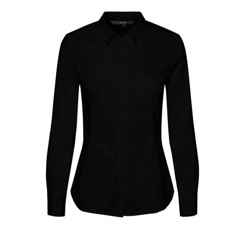 Veromoda vmliva ls shirt ga color negro - Imagen 1