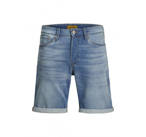 Jack&jones jjirick jjicon shorts ge 003 i.k sts denim oscuro - Imagen 1