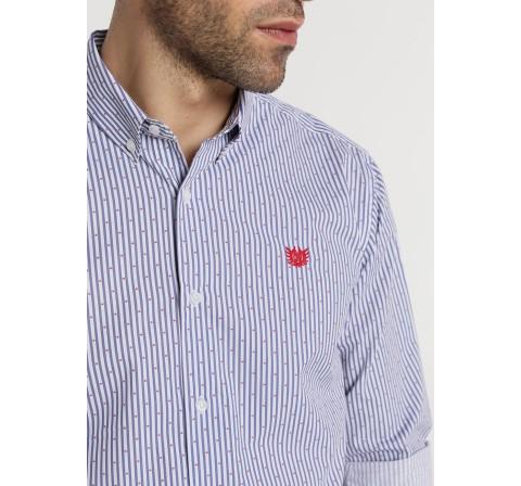 Bendorff camisa m/l mini topos blanco - Imagen 1