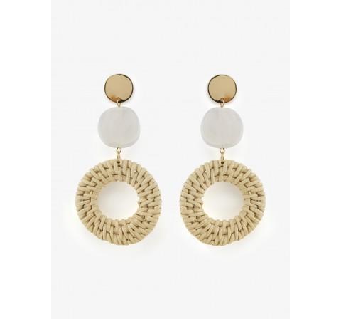 Pieces pcnadette earrings sww caldera - Imagen 1