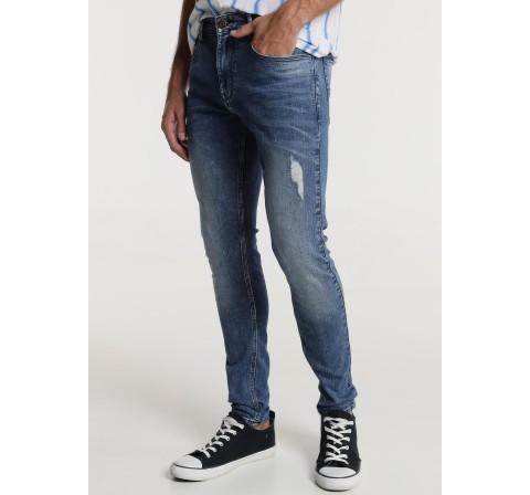 Bendorff pantalon denim skinny denim medio - Imagen 1