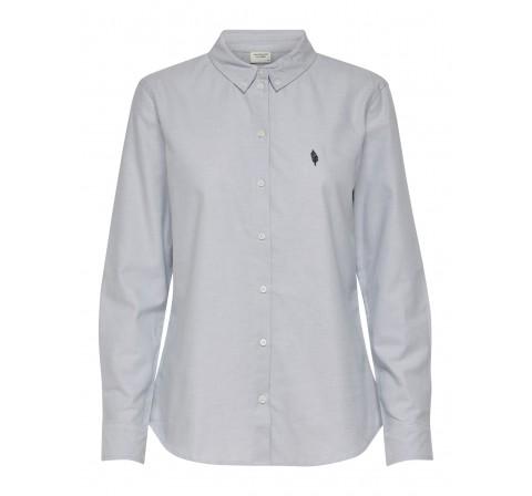 Jdy jdynorth l/s oxford shirt wvn celeste - Imagen 1