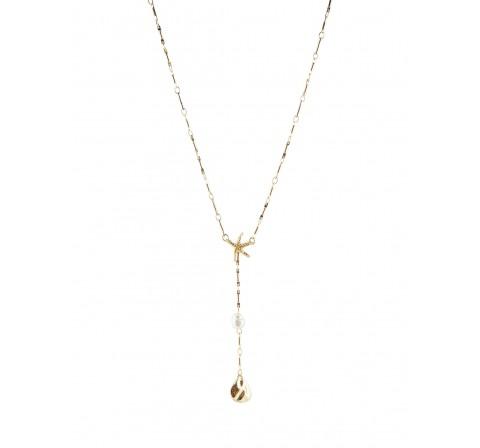 Pieces pcaline necklace oro - Imagen 1