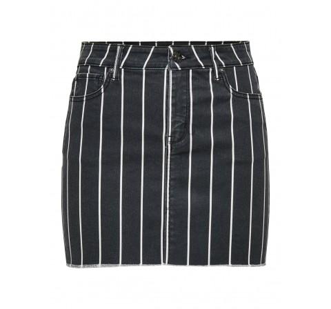 Only onlania-ester mw aop skirt cc pnt negro - Imagen 1