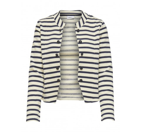 Only onlanetta life l/s stripe blazer swt blanco - Imagen 1