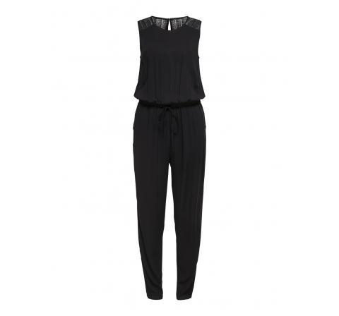Jdy jdysummer s/l lace jumpsuit wvn negro - Imagen 1