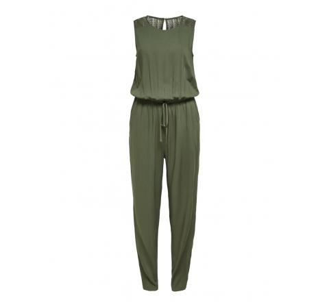 Jdy jdysummer s/l lace jumpsuit wvn verde oscuro - Imagen 5