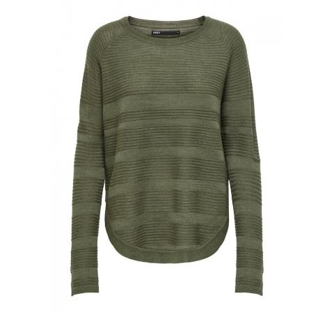 Only noos onlcaviar l/s pullover knt noos verde oscuro - Imagen 17