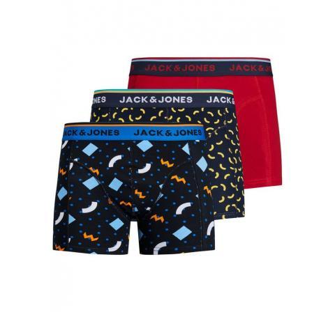 Jack&jones noos jacline trunks 3 pack blanco - Imagen 1