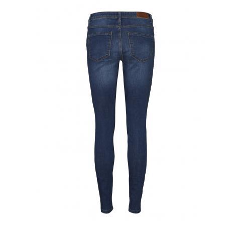 Veromoda vmtanya mr s piping jeans vi369 noos denim oscuro - Imagen 2