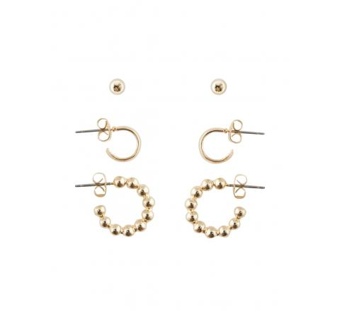 Pieces pcshaina 3-pack earrings oro - Imagen 1