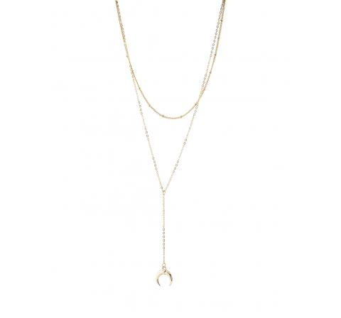 Pieces pcrine combi necklace oro - Imagen 1