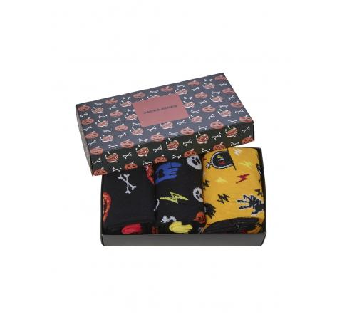 Jack&jones noos jachalloween sock giftbox 2 negro - Imagen 1