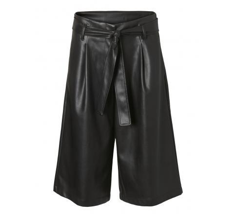 Veromoda vmhoney lilja hw coated city shorts ki negro - Imagen 1