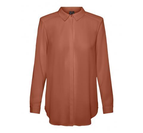 Veromoda vmevita ls shirt wvn rosa - Imagen 1
