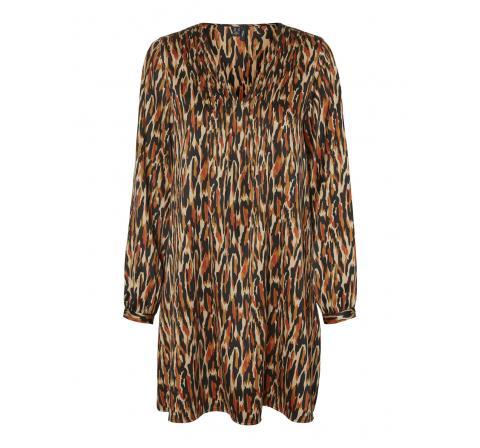 Veromoda vmchloe ls short dress wvn ga lcs negro - Imagen 1