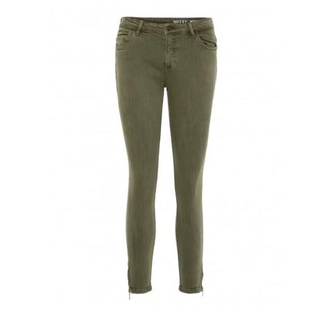Noisy may noos nmkimmy nw ank zip clr jeans cs068 noos verde oscuro - Imagen 1
