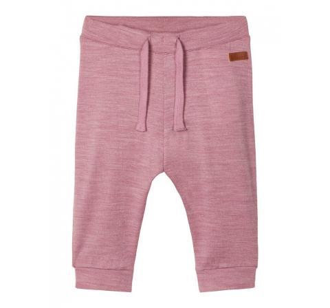 Name it baby niÑa noos nbfwupsus wool/cot legging xx rosa - Imagen 1