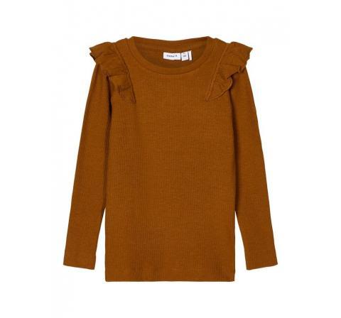 Name it mini niÑa nmfnaije ls slim top marron - Imagen 8