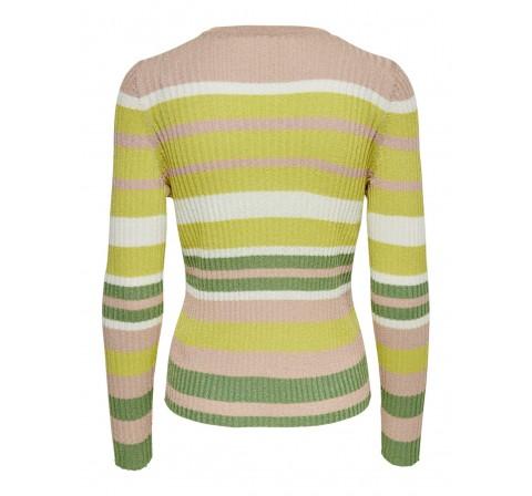 Only onlevie l/s pullover cc knt blanco - Imagen 1