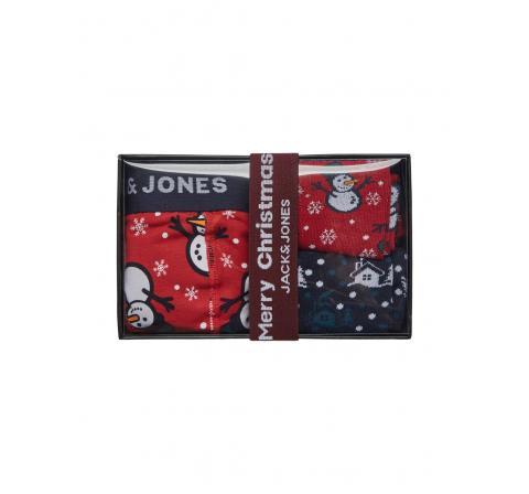 Jack&jones jacsnow giftbox rojo - Imagen 1