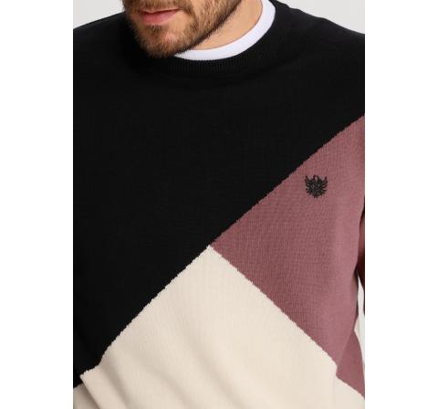 Bendorff jersey tricolor negro - Imagen 1