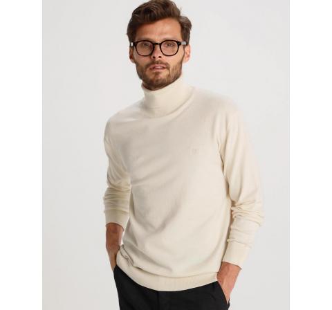 Bendorff jersey basico cuello alto crudo - Imagen 1