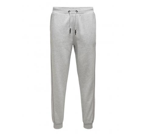 Only & sons onsespen life reg sweat pants gris - Imagen 1