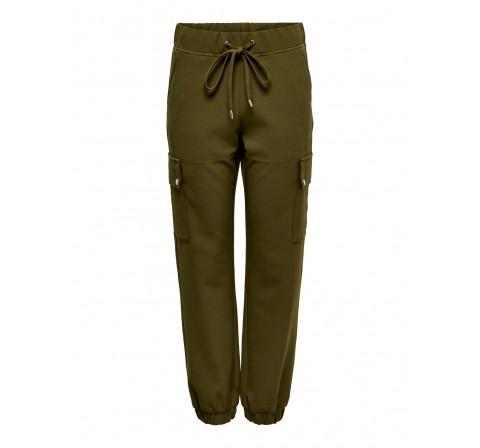 Only onlglowing  cargo pants pnt verde oscuro - Imagen 1