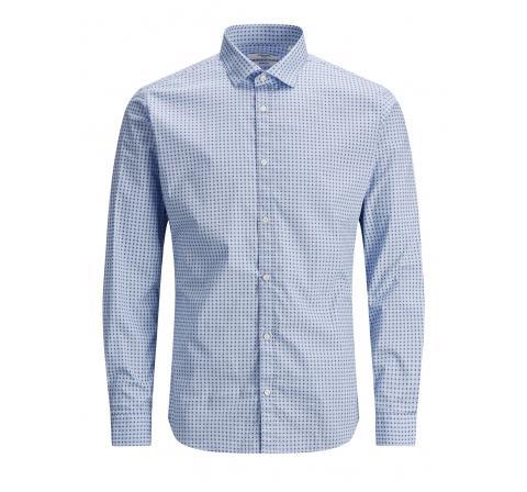 Jack&jones jprblablackpool stretch shirt l/s sts celeste - Imagen 1