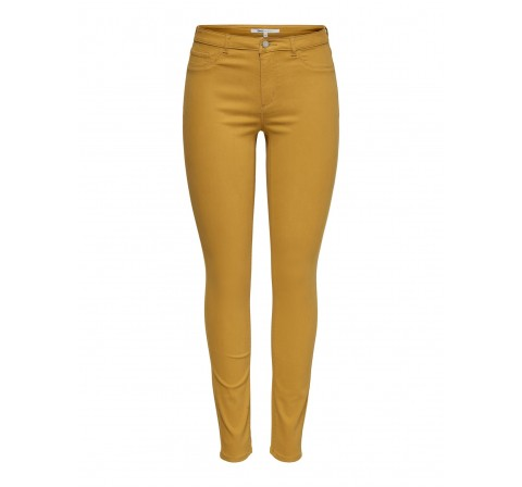 Only onlmirinda basic skinny pant pnt mostaza - Imagen 1