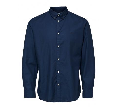 Selected slhslimsouth-ox shirt ls ex marino - Imagen 1