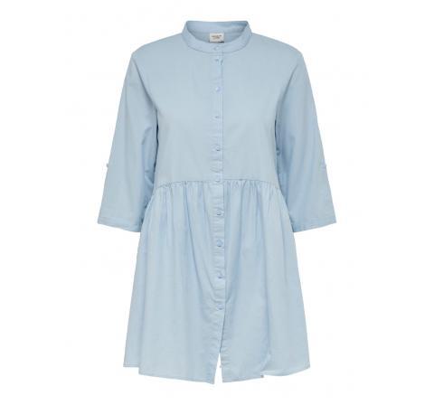 Jdy jdycameron life 3/4 short dress wvn celeste - Imagen 1