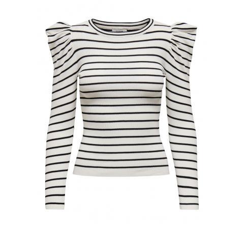 Jdy jdycerol l/s pullover knt blanco - Imagen 1