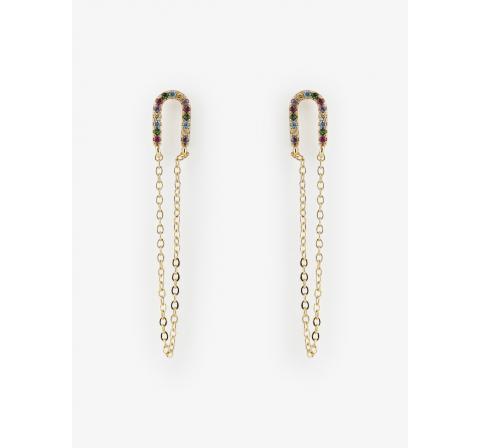 Pieces pcnonaia earrings pb oro - Imagen 1
