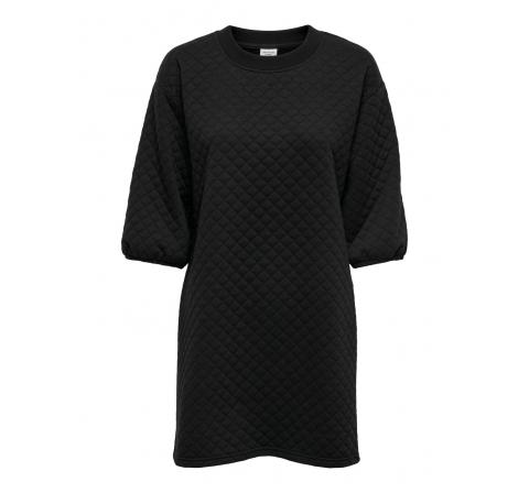 Jdy jdynapa 3/4 quilted dress jrs negro - Imagen 1