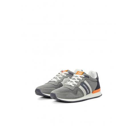 Jack&jones footwear jfwstellar mesh 2.0 asphalt gris - Imagen 1