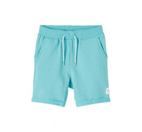 Name it mini niÑo nmmfasto sweat long shorts unb verde agua - Imagen 1