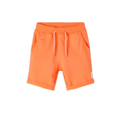 Name it mini niÑo nmmfasto sweat long shorts unb coral - Imagen 3