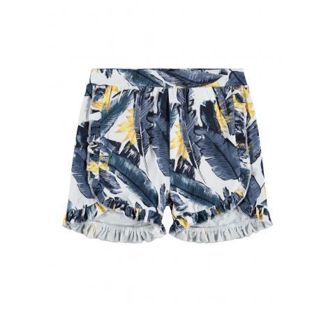 Name it mini niÑa nmffibloom shorts blanco - Imagen 1