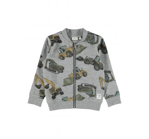 Name it mini niÑo nmmdonni ls sweat card unb gris - Imagen 1